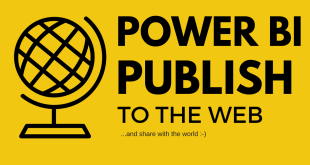 powerbi publish to the web